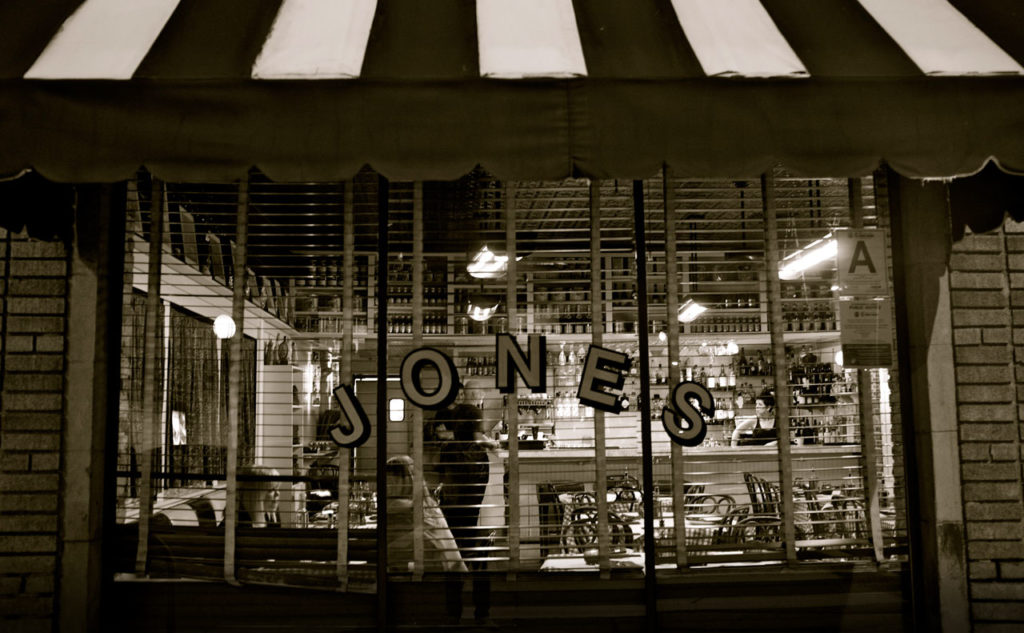 Jones Hollywood Cafe front of store